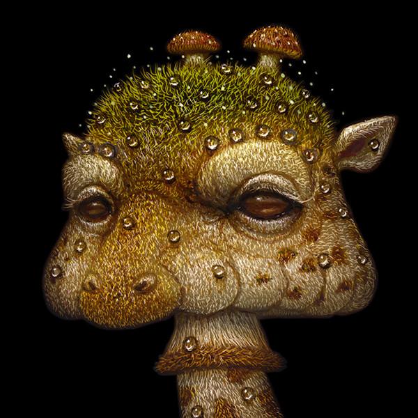Shroom Giraffe 03