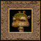 Shroom Giraffe 03 framed