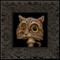 Shroom Cat 016 framed