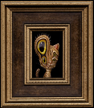 Cat 017 framed