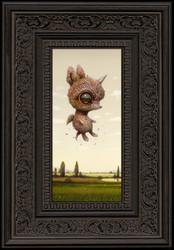 Lucid Dreamer 146 framed
