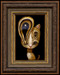 Cat 022 framed