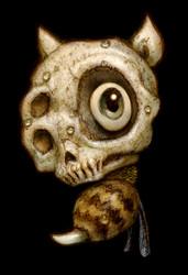 Skull Bee 02