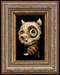 Skull Bee 02 framed