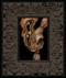 Rabbit 017 framed