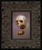Skullbee 02 framed
