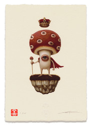"Limited Edition Print ""ShroomKing 02"""
