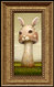 Rabbit Shroom framed