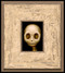 Skully 027 framed