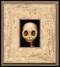 Skully 027 framed
