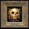 Skully 030 framed