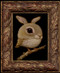 Rabbit Bird 03 framed