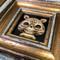 SkullShroom Cat framed