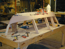 "9'-7"" Maine Skiff plan"