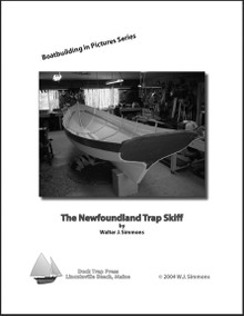 Newfoundland Trap Skiff, black and white book