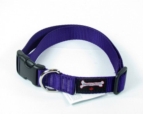 Smoochy Poochy  Nylon Collar - Purple