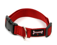 Smoochy Poochy Nylon  Collar - Red