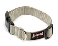 Smoochy Poochy Nylon Collar - Silver