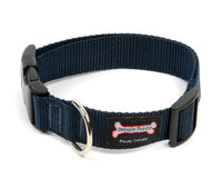 Smoochy Poochy Nylon Collar - Navy