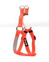 Smoochy Poochy Step-In Harness - Orange