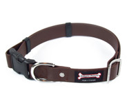 Smoochy Poochy Waterproof Collar Release Buckle - Brown