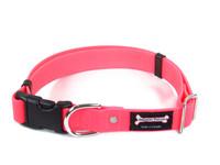 Smoochy Poochy Waterproof Collar Release Buckle - Hot Pink