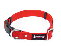 Smoochy Poochy Waterproof Collar Release Buckle - Red