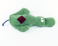 West Paw Platy Pooch Toy - Green