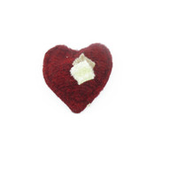 West Paw Puppy Tiny Heart - Red