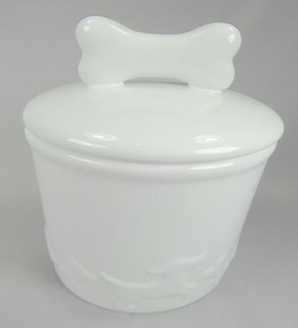 Creature Comforts Jar White