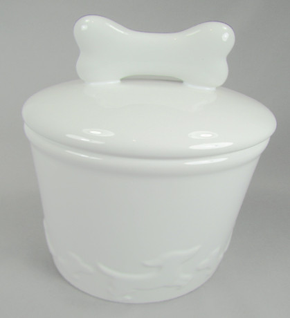 Creature Comforts Jar White