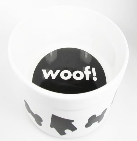Ore Woof Dof Large Dog Dish
