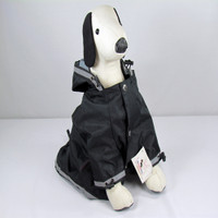My Sassy Dog Raincoat - Black