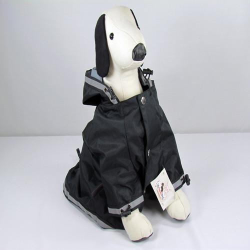 My Sassy Dog Raincoat - Black