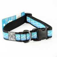 "Rc Pet Products Clip Collar -""Blue Waves"""