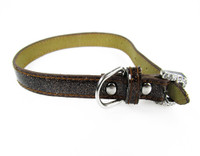 FouFou Sparkle Collar - Brown