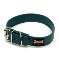 Smoochy Poochy Waterproof  Collar - Jaguar (Leather Alternative Material)