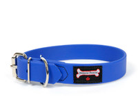 Smoochy Poochy Waterproof  Collar- Ocean  (Leather Alternative Material)