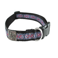 Silverfoot Collar - Heartbeat Purple