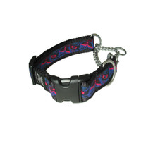Silverfoot Quick-Release Martingale Collar - Ballen Purple