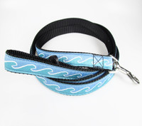 "Rc Pet Roducts Dog Leash - ""Blue Waves"""