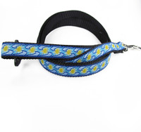 "Rc Pet Roducts Dog Leash - ""Sunshine Blue"""