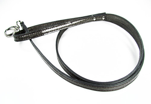 FouFou Sparkle Leash - Charcoal