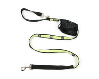 Smoochy Poochy 2Tone Hands-Free Leash - Black Mint