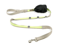 Smoochy Poochy 2Tone Hands-Free Leash - Silver Mint