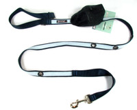 Smoochy Poochy 2Tone Hands-Free Leash - Navy Baby Blue
