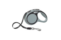 Flexi New Comfort Tape Retractable Leash - Grey