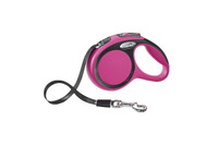 Flexi New Comfort Tape Retractable Leash - Pink