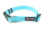 Smoochy Poochy Waterproof Collar Release Buckle - Turquoise