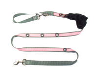 Smoochy Poochy 2Tone Hands-Free - Charcoal Baby Pink